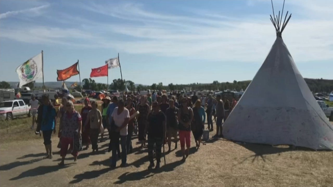 Tulsa Man Travels To Support Standing Rock Protestors