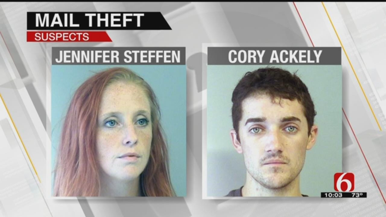 Police Arrest Two Accused Of Stealing South Tulsa Residents' Mail