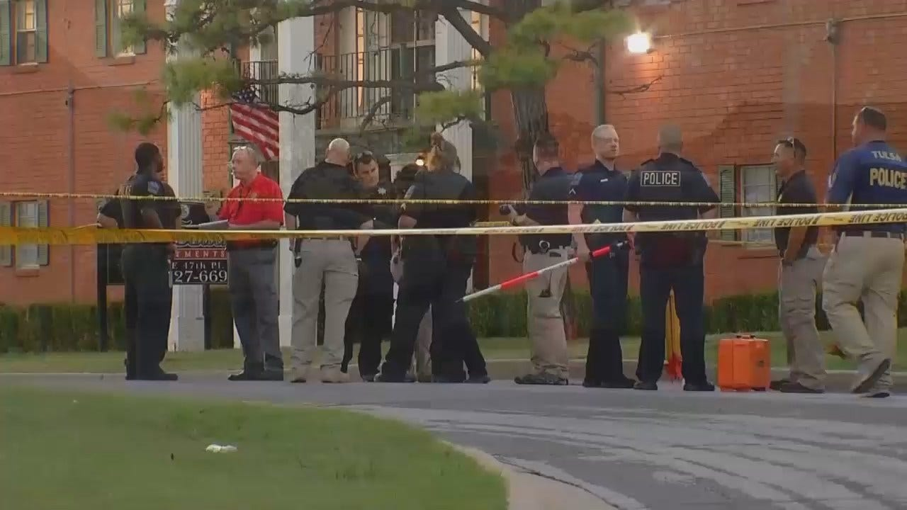 WEB EXTRA: Video From Scene Of Fatal Pedestrian Crash In Tulsa