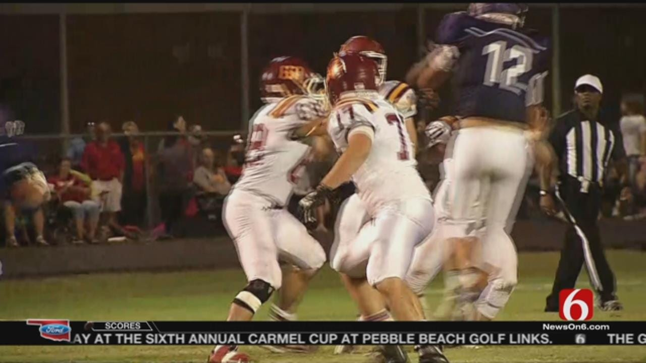 Hominy Snags 25-7 Victory Over Cleveland