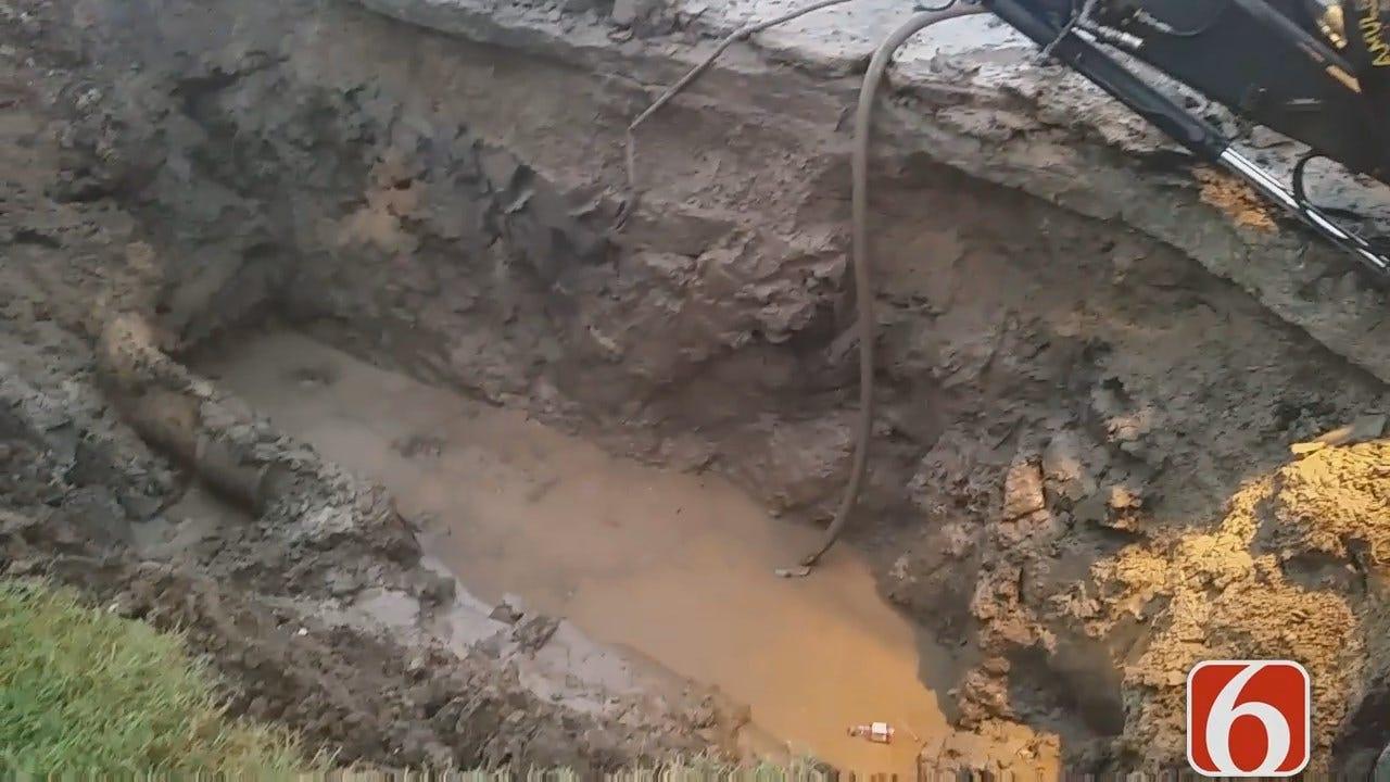 Dave Davis Has Latest Update On Tulsa's 51st Street Water Main Break