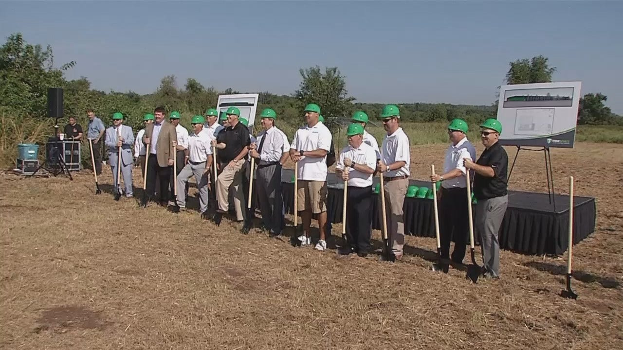 WEB EXTRA: Video From The Groundbreaking Ceremony