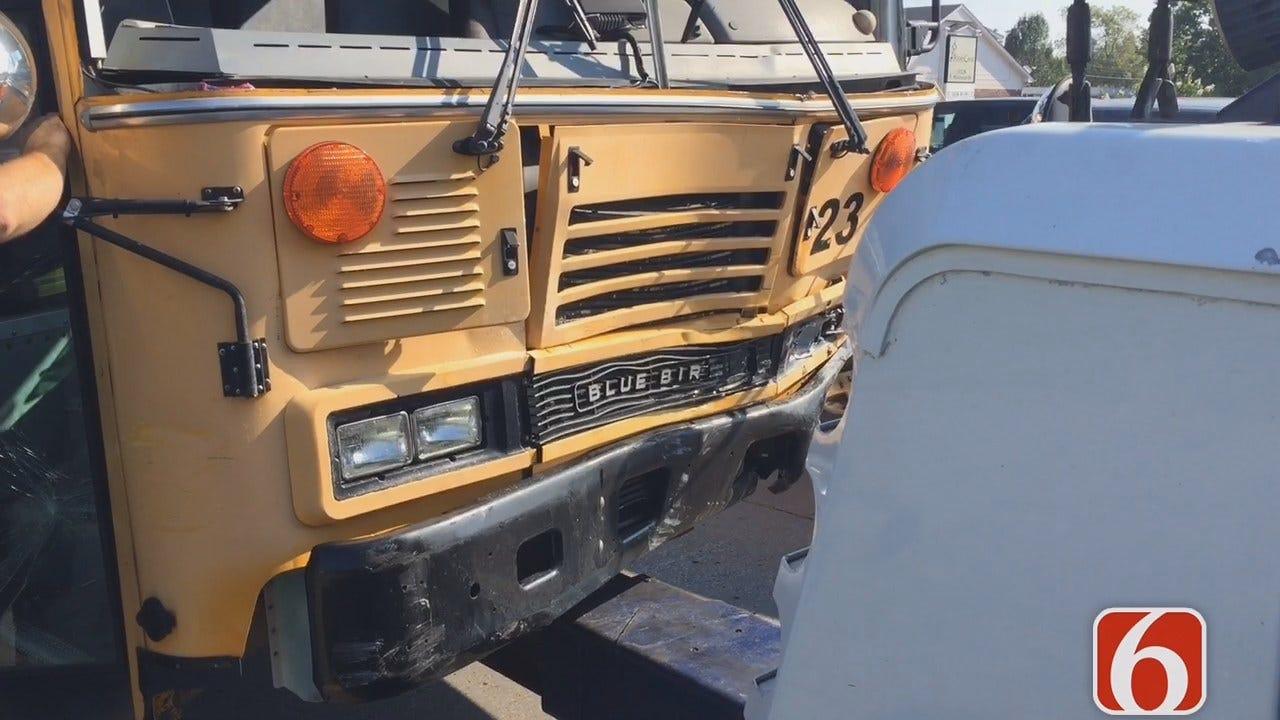Melissa Hawkes Gives Update On Bixby School Bus Injury Crash