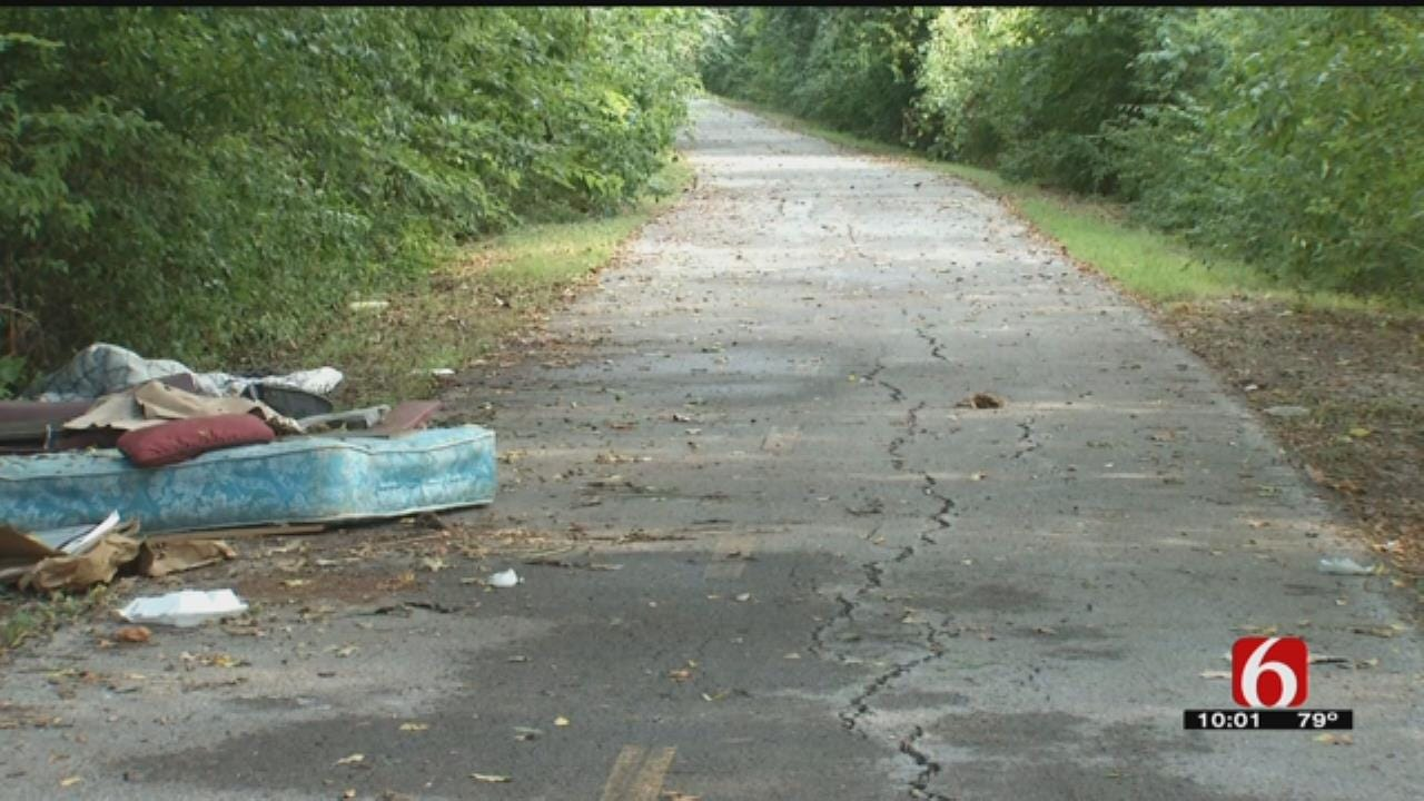 Illegal Dumping On The Rise On Osage Prairie Trail