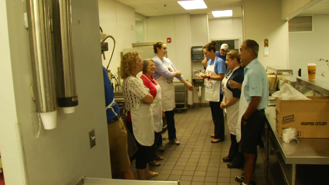 Country Club Chefs Cook Up Meals For Tulsa's Iron Gate