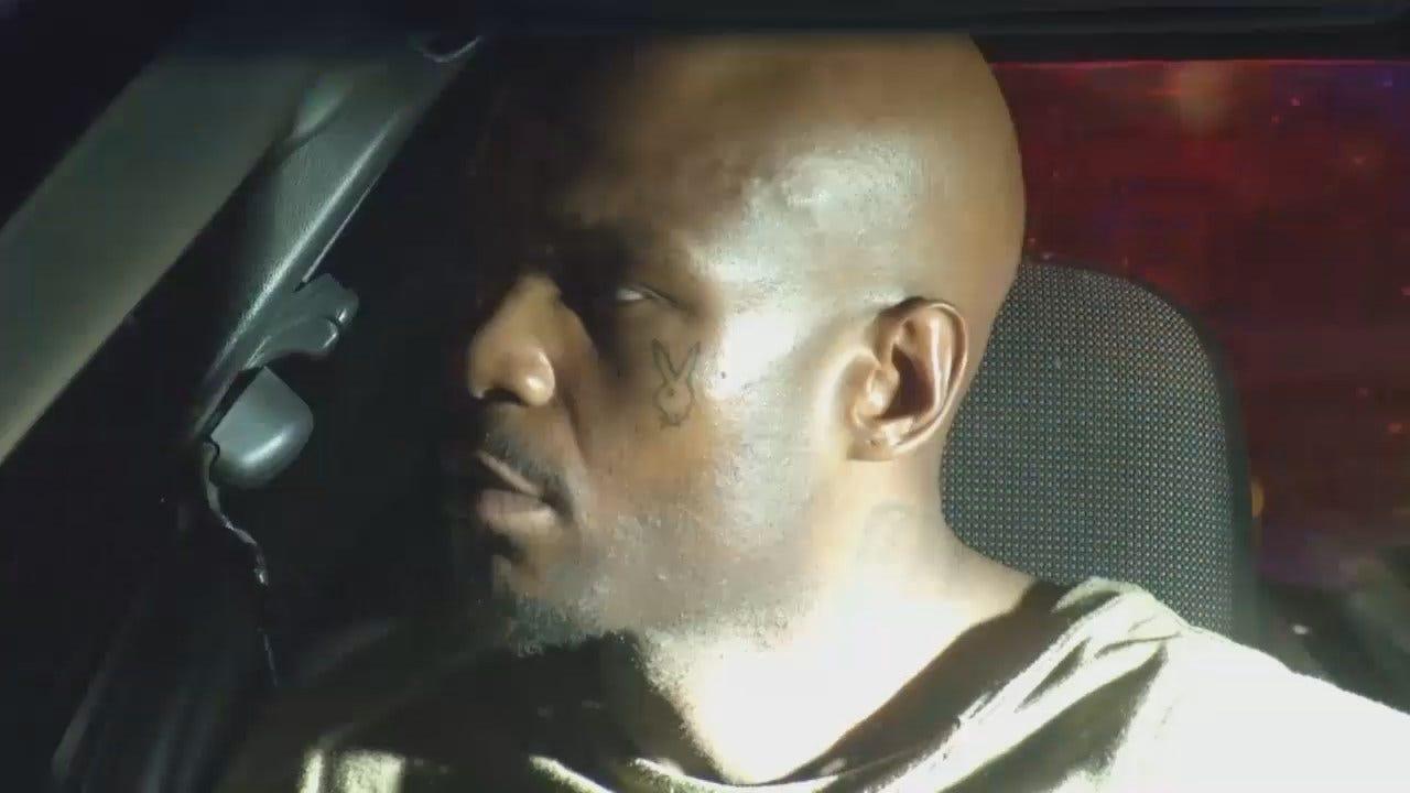 WEB EXTRA: Video From Scene Of Burglary Arrest Outside Tulsa Motel