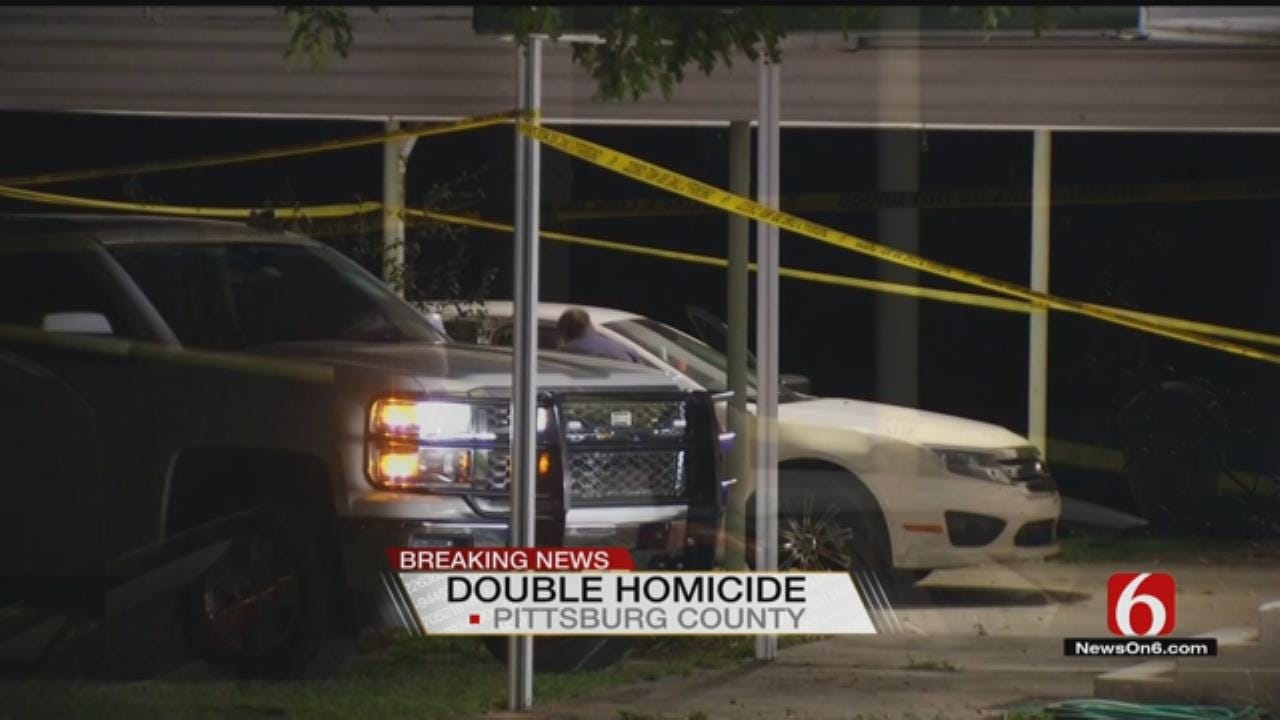 Pittsburg County Sheriff's Office Investigating Double Homicide