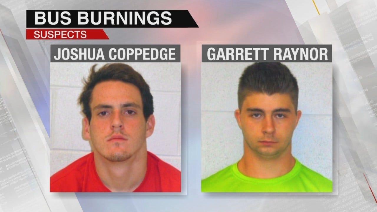 Two Teens Arrested In Theft, Burning Of Twin Hills School Buses