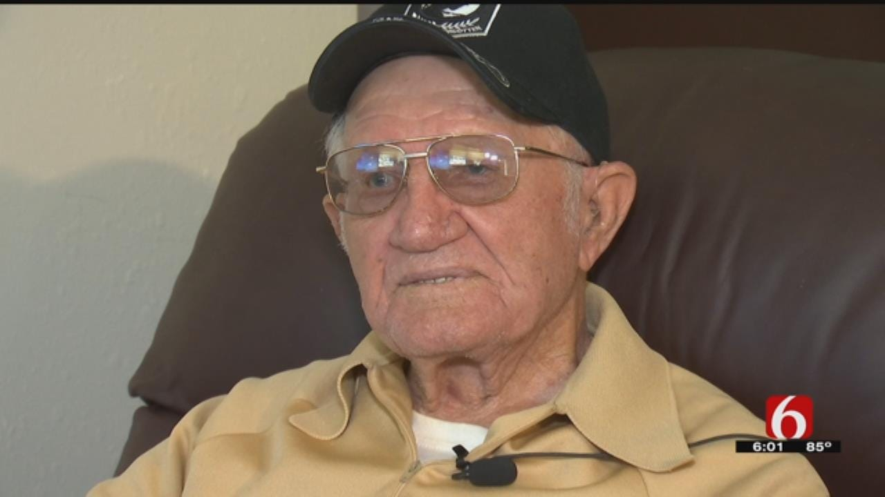 92-Year-Old OK Veteran Stands Up To Armed Robber