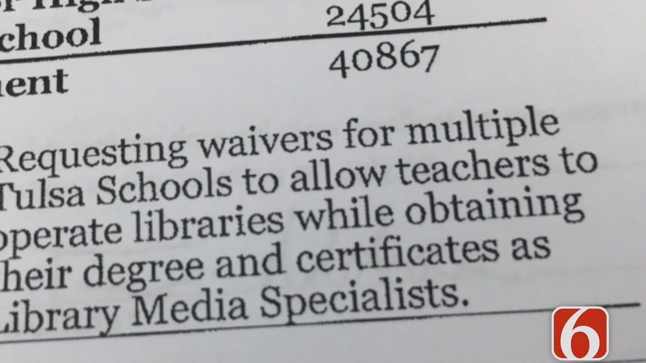 Emory Bryan Reports On Oklahoma Emergency Teacher Certifications