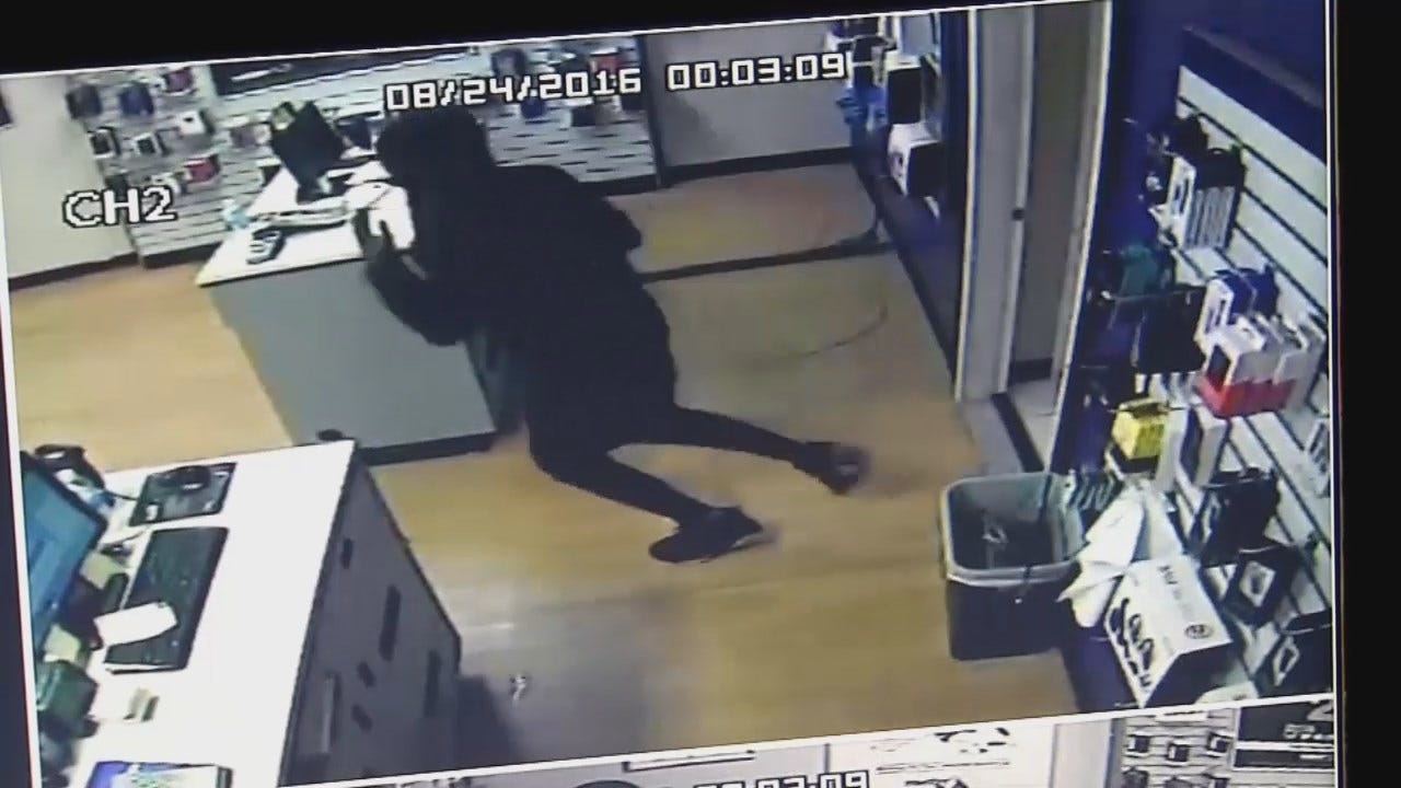 WEB EXTRA: Store Surveillance Video Released