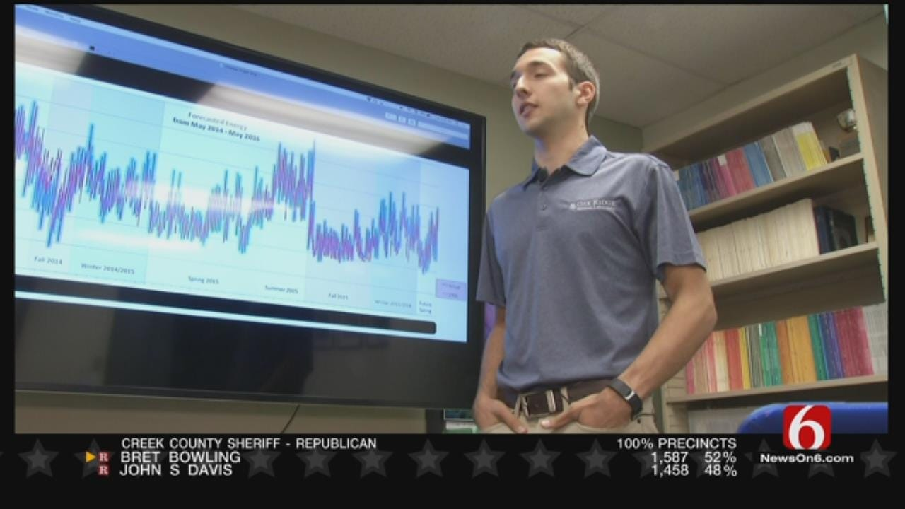 ORU Student Helps Develop Energy Saving Equation