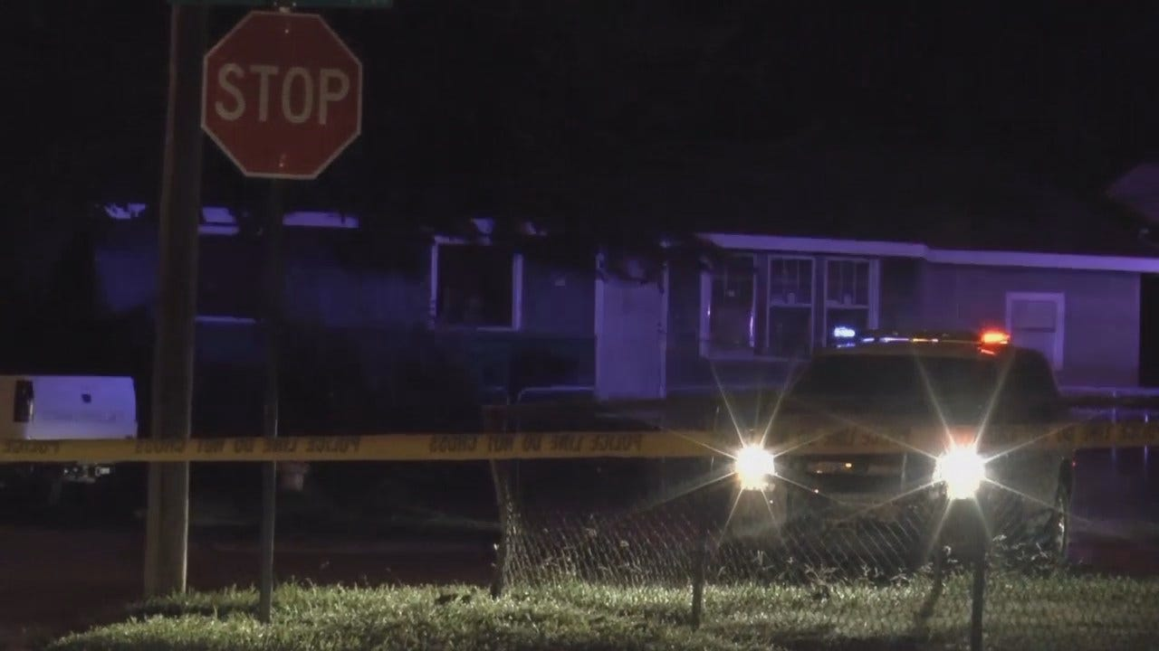 WEB EXTRA: Scenes From 4th Tulsa Homicide In 24 Hours