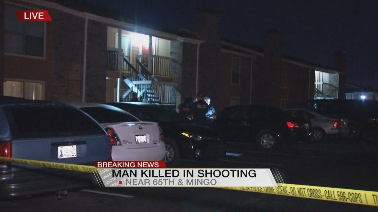 Tulsa Man Shot To Death After Opening Apartment Door