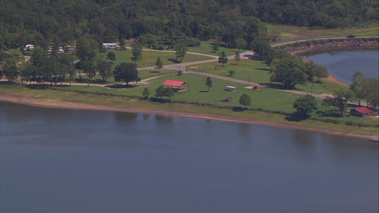 WEB EXTRA: Osage SkyNews 6 HD Flys Over Sahoma Lake