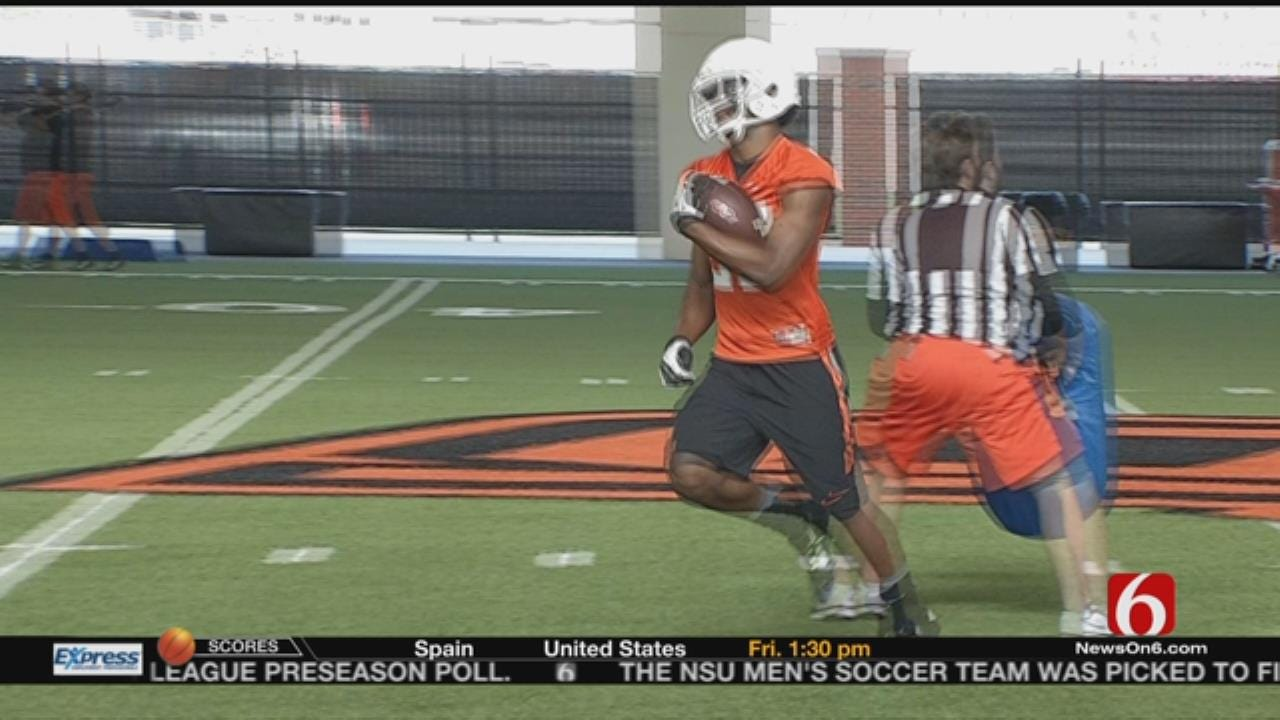 Practice Report: Booker T. Washington's Justice Hill A Standout Freshman At Cowboys Camp