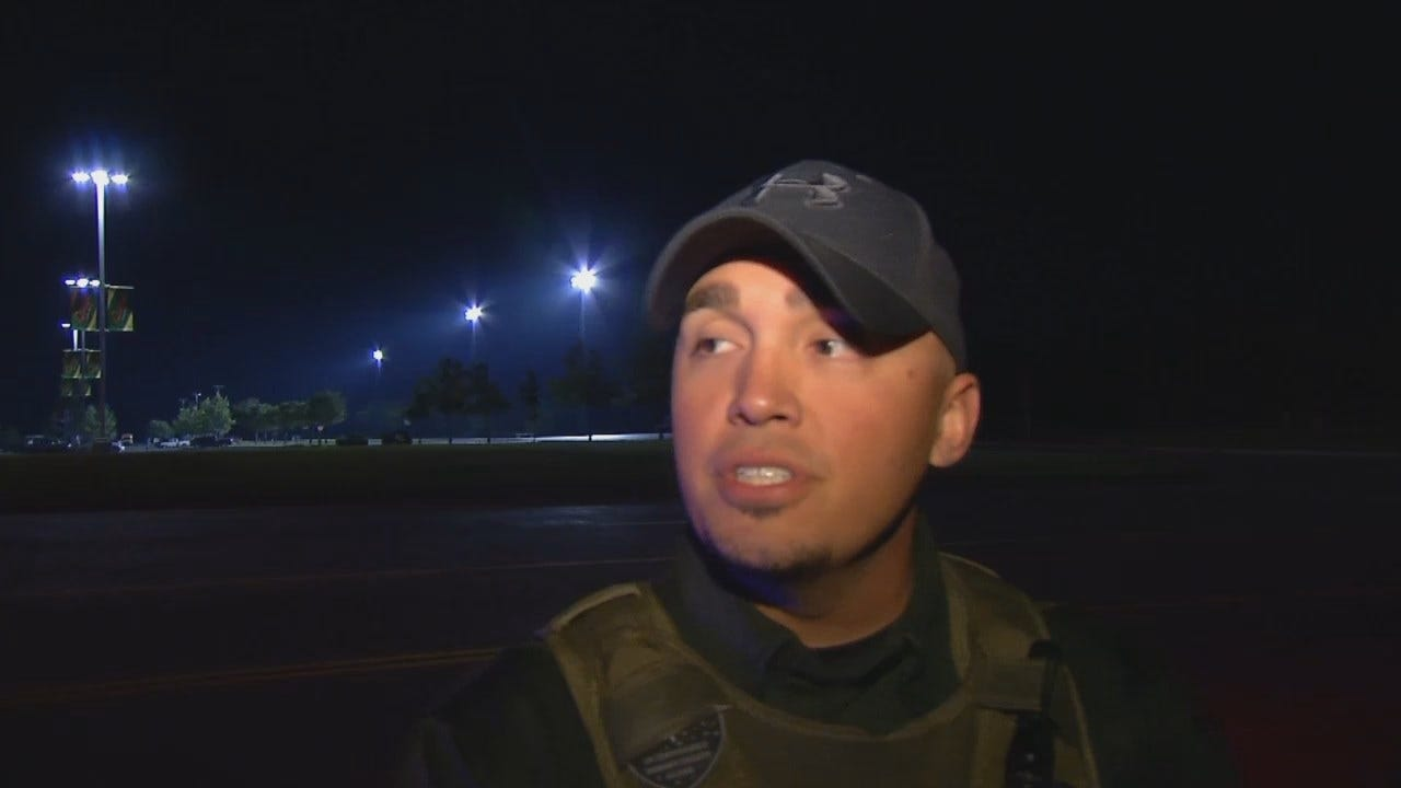 WEB EXTRA: Osage Nation Tribal Police Sgt. Nick Silva Talks About Chase, Arrest