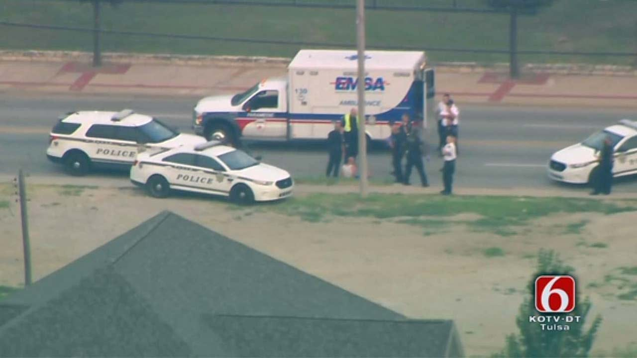 Dave Davis Reports Man Arrested After Tulsa Standoff, Bomb Threat