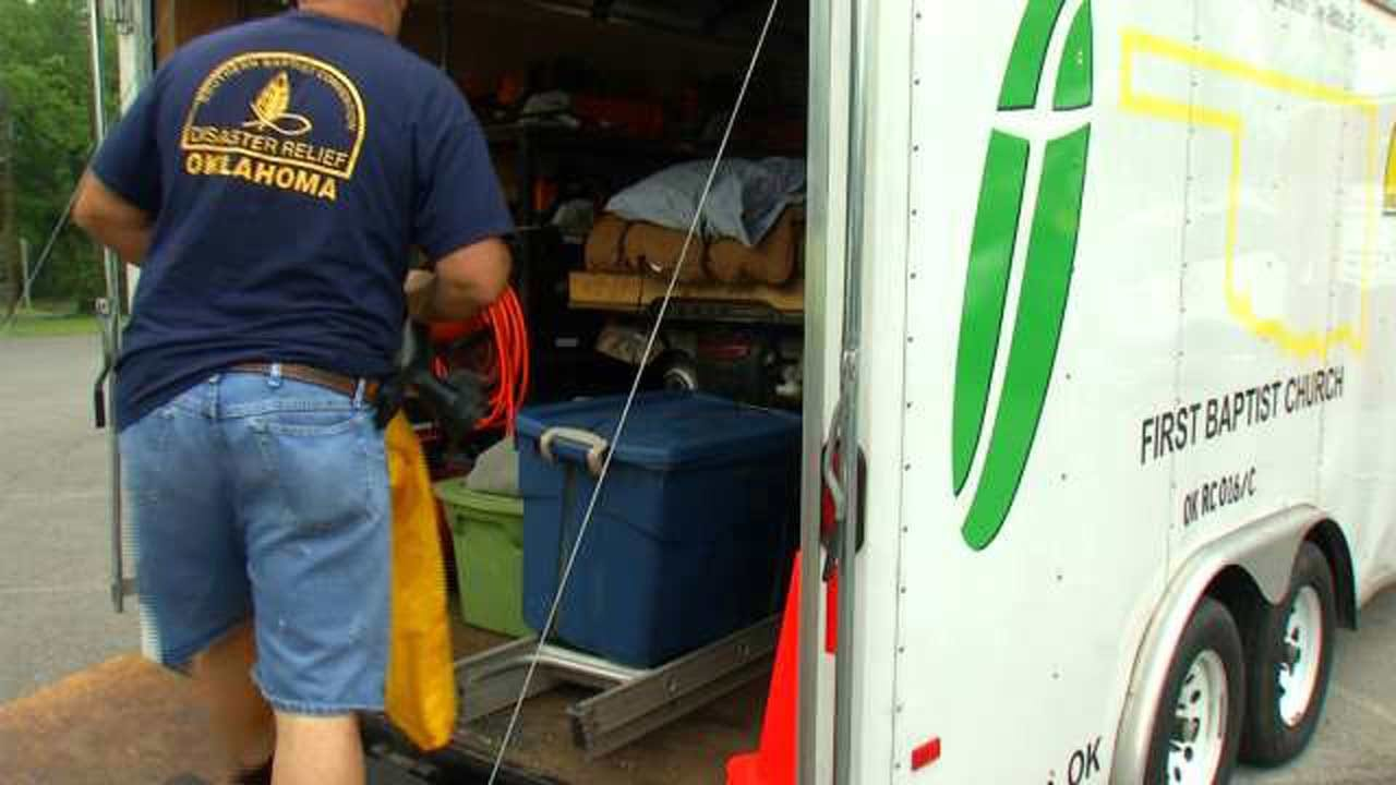 OK's Southern Baptist Disaster Relief Set To Help Louisiana Flood Victims