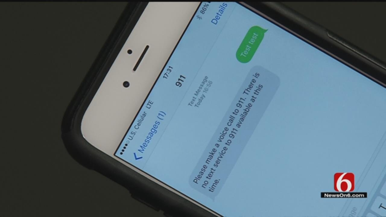 New Technology Lets Muskogee 911 Center Communicate By Text