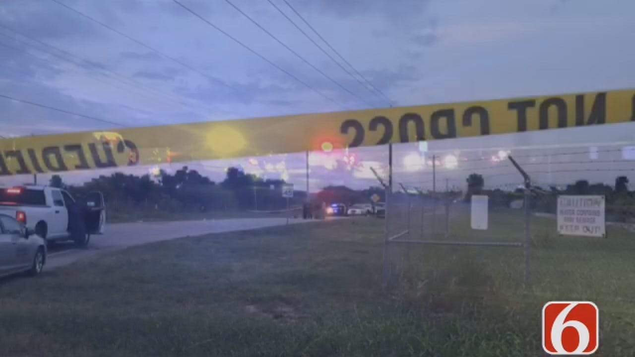 Joseph Holloway Reports On Body Found Beside Catoosa Area Road