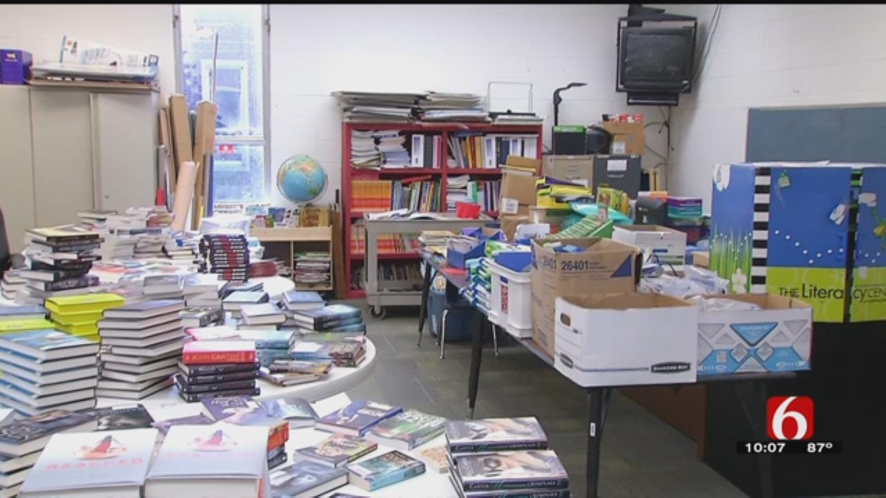 Muskogee School Offers 'Resource Rooms' For Students Needing Clothes, Supplies