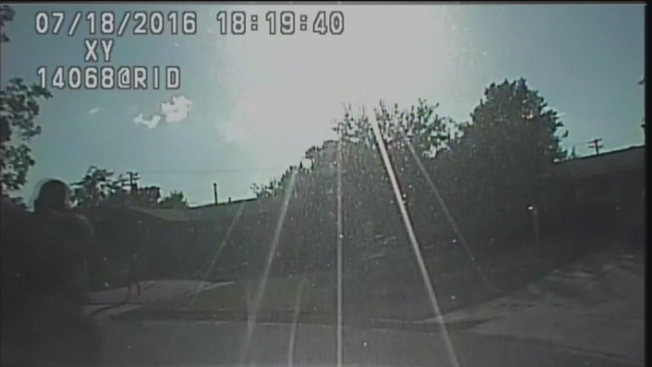 WEB EXTRA: Tulsa Police Dashcam Video