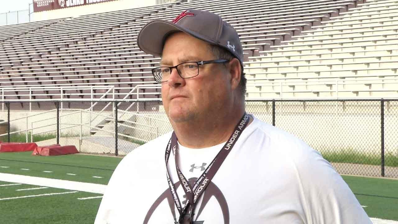 Jenks Coach Allan Trimble Back On The Field After ALS Diagnosis