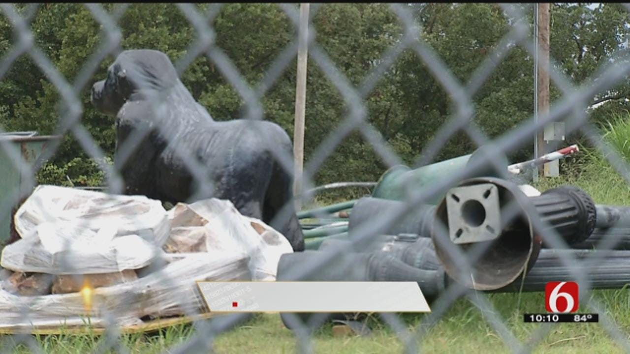 Major Staples At Bixby Park Removed For Construction