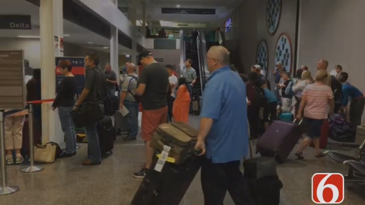 Joseph Holloway Reports On Delta Airlines Delays
