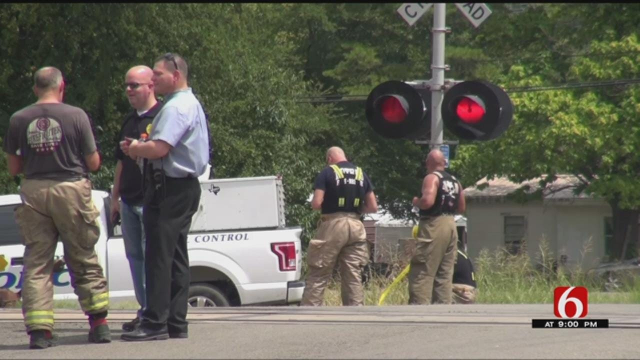 Four Killed, One Injured In Poteau Train Crash