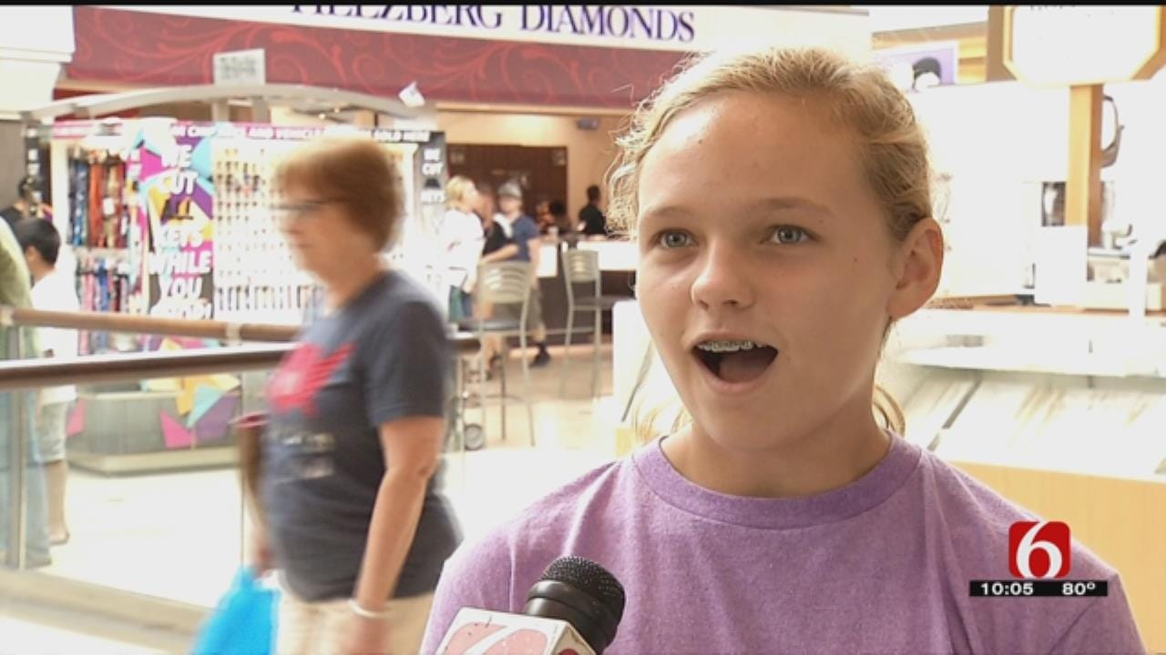 Shoppers Enjoy Oklahoma's Tax-Free Weekend
