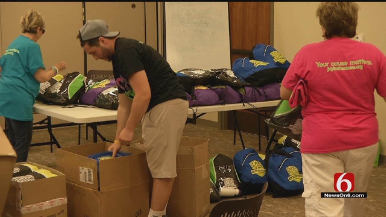 Rogers County Deputies Get Gifts Designed To Comfort Children In Crisis
