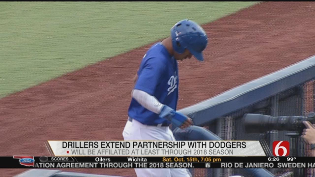 Drillers, LA Dodgers Extend Partnership