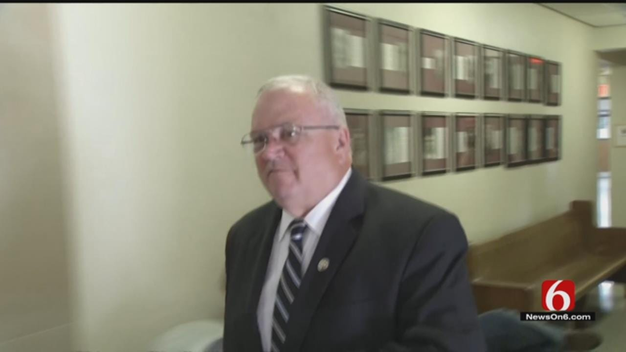 Suspended Wagoner County Sheriff, Deputy, In Court For Hearing