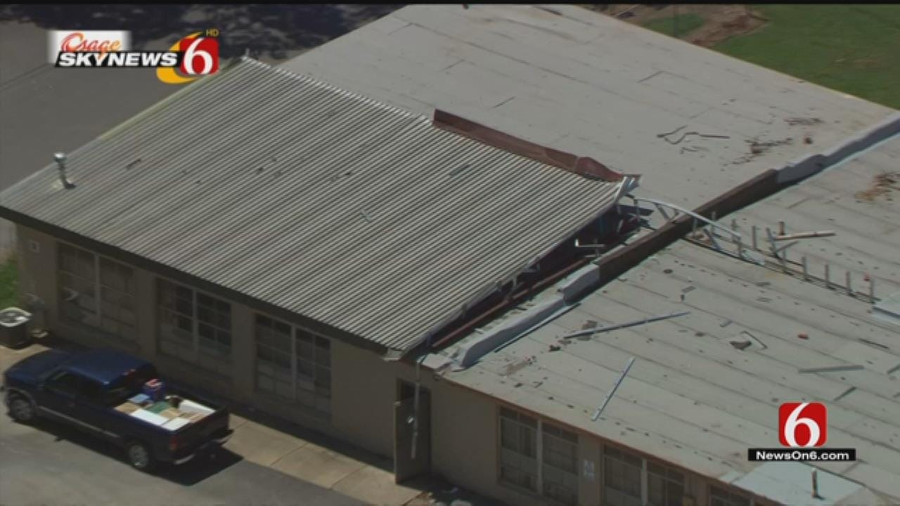 Glenpool Schools Still Dealing With Storm Damage As First Day Approaches