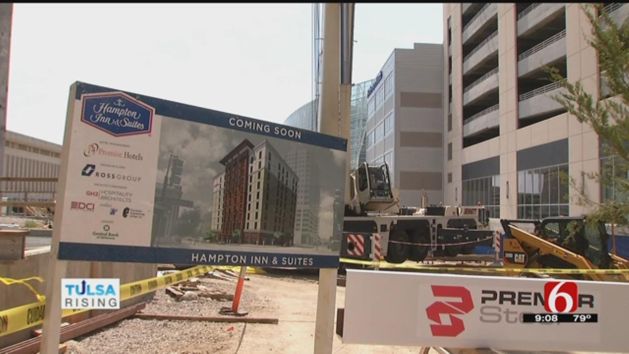 Downtown Tulsa High-Rise Hotel Closer To Completion