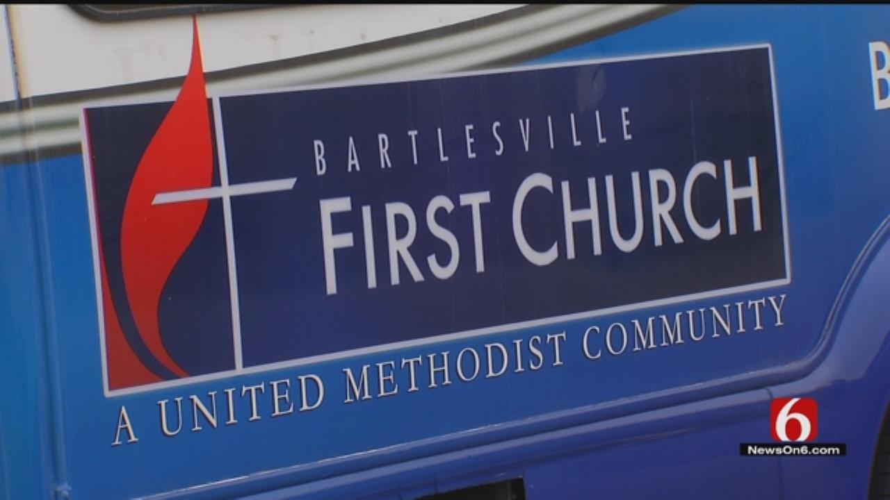 Bartlesville Church Van Thief Caught On Camera