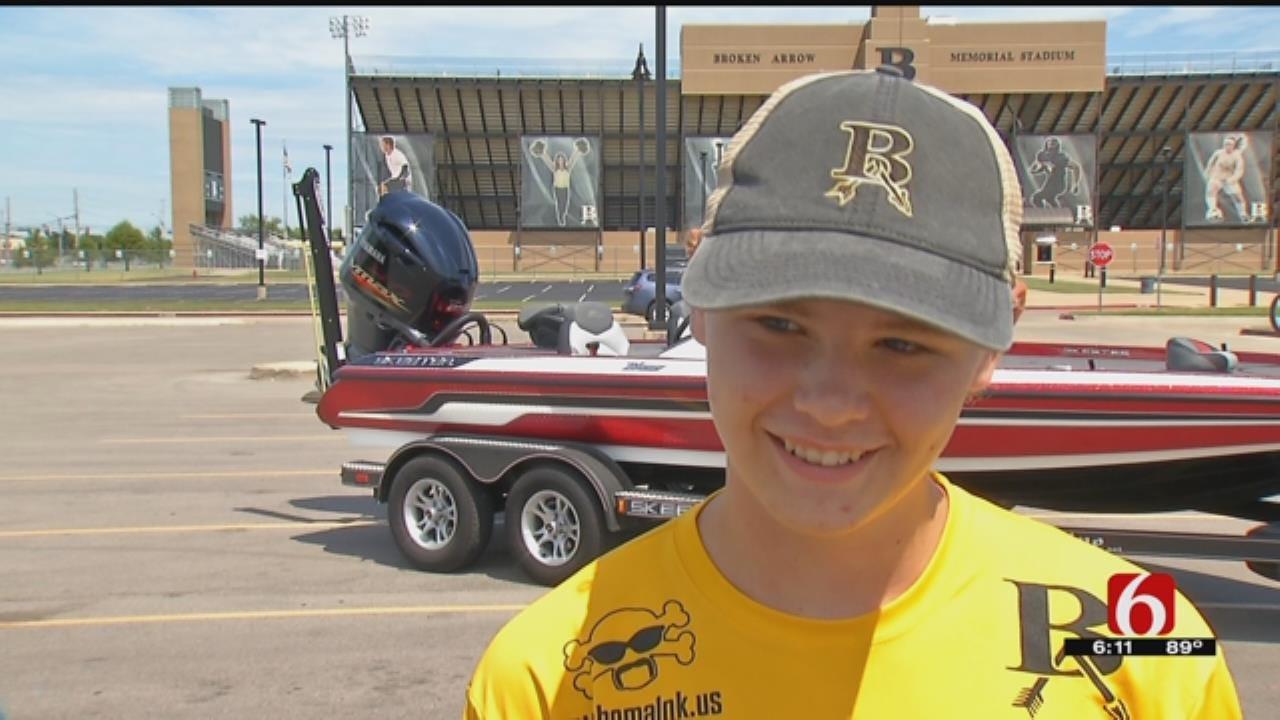Oklahoma Teens Vie For High School Bassmaster National Title