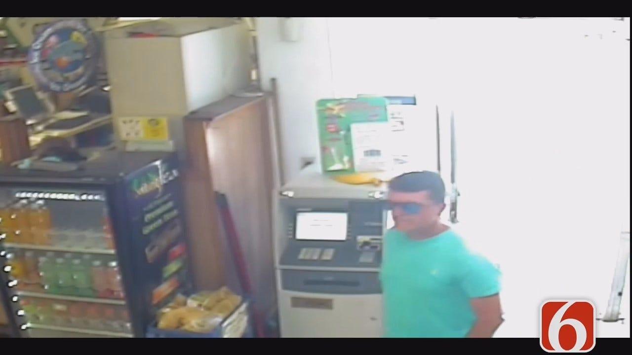 Tess Maune: Glenpool Police Work To Identify Theft Suspect