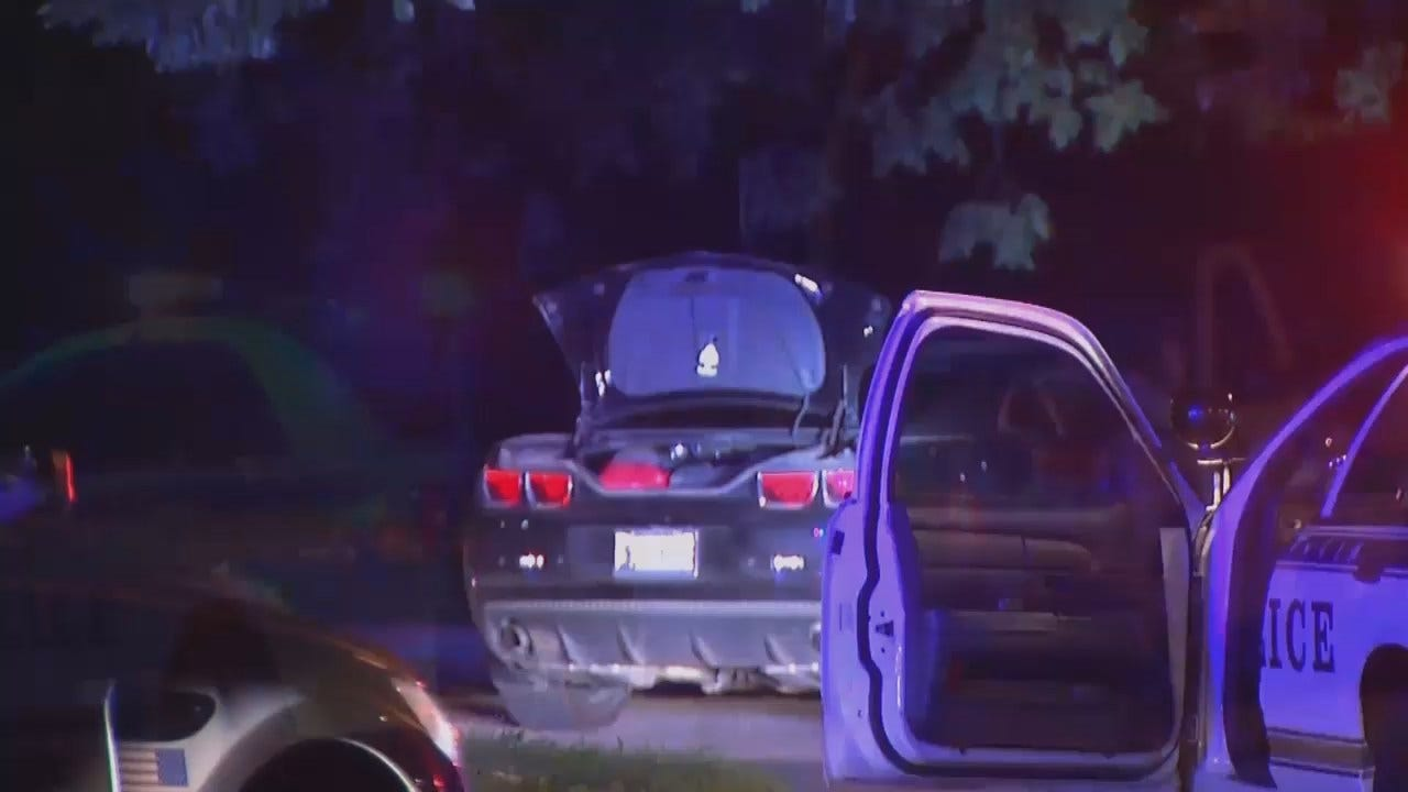 WEB EXTRA: Video From Scene Of Stolen Car Recovered