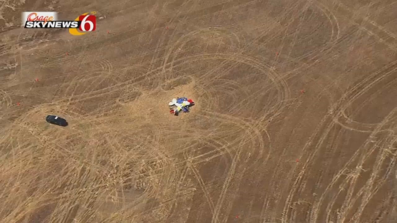 WEB EXTRA: Osage SkyNews 6 HD Video Of The Crash Scene