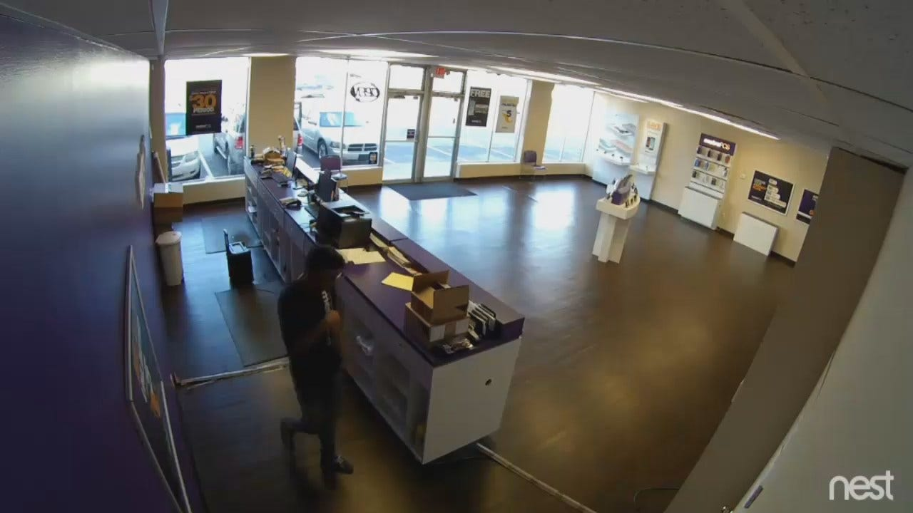 WEB EXTRA: TPD Releases Armed Robbery Surveillance Video