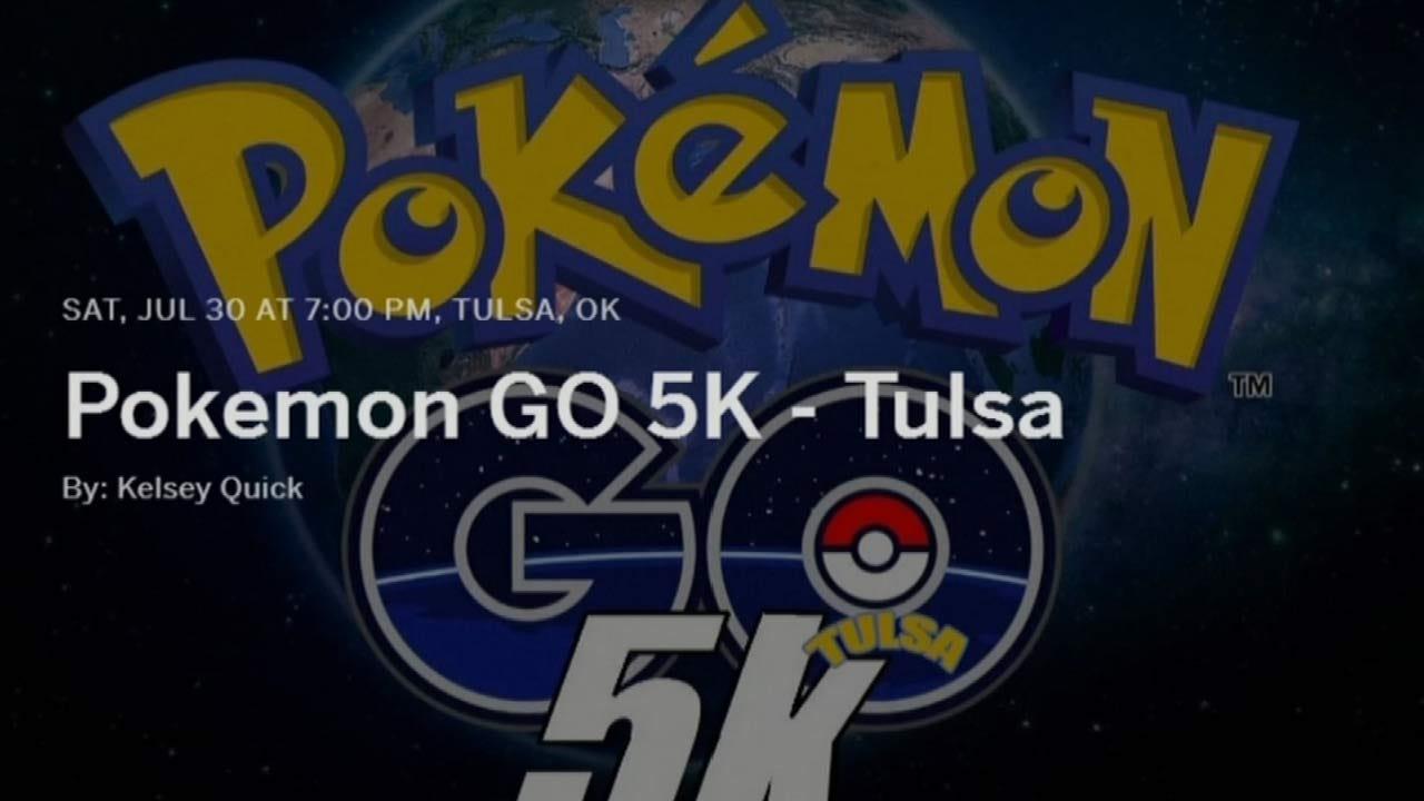 Tulsa To Hold First 'Pokemon Go' 5K Run At LaFortune Park