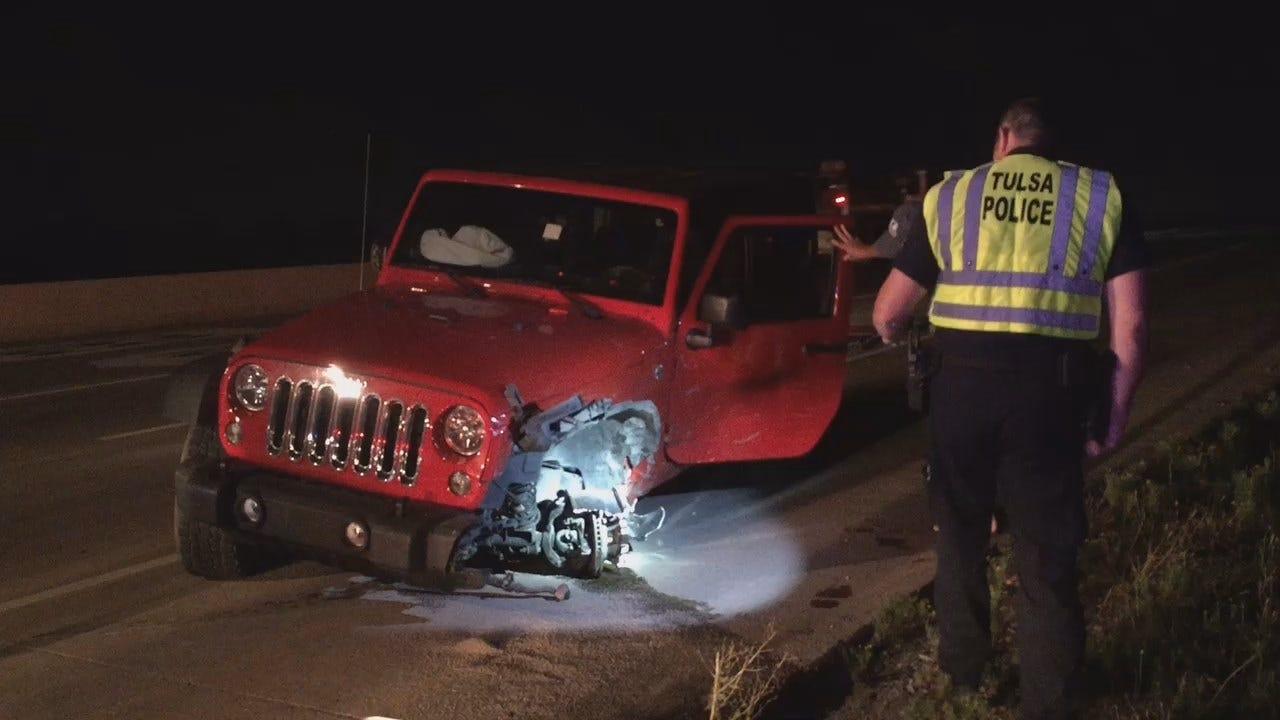 Gary Kruse Reports On Wrong-Way Tulsa Crash