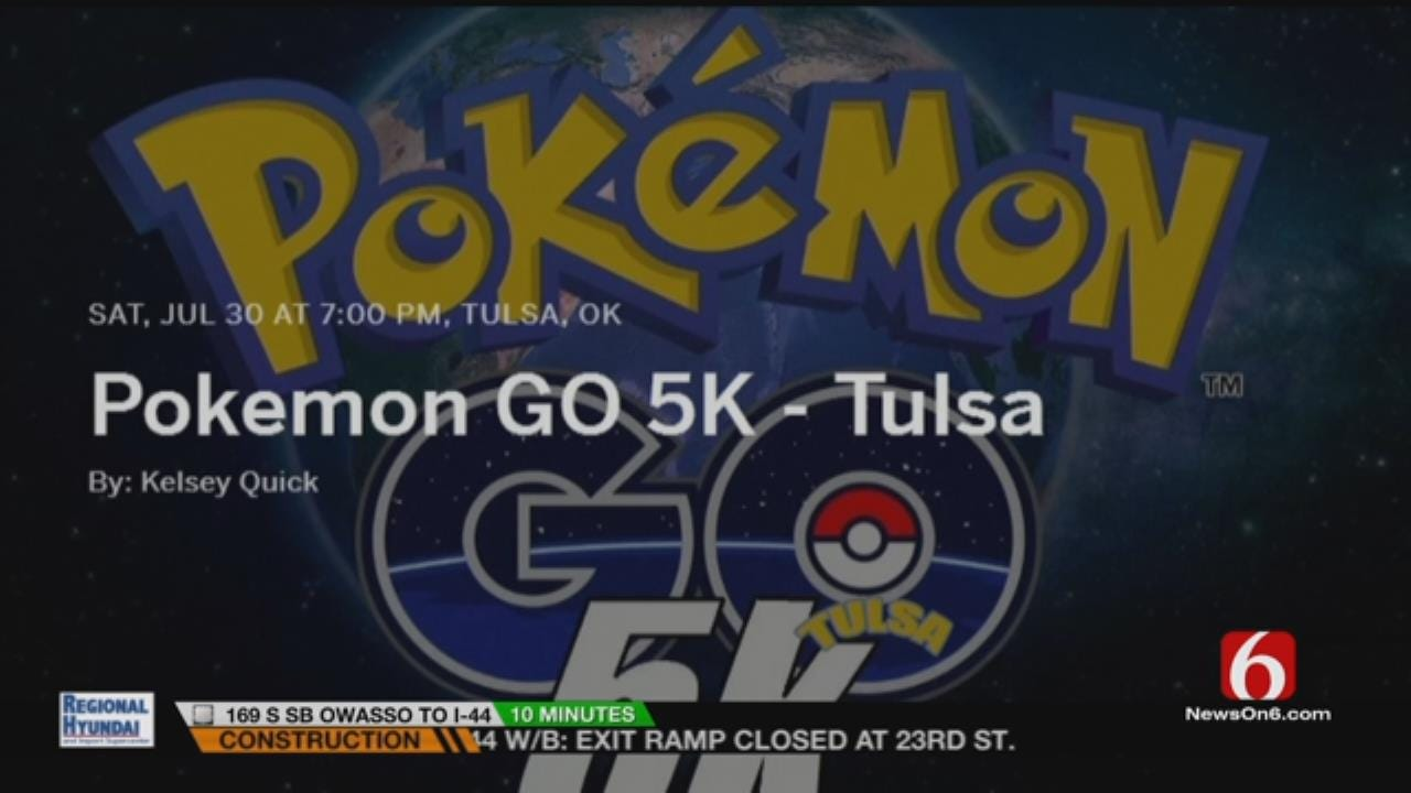 Pokemon Go 5K Planned For Tulsa's LaFortune Park