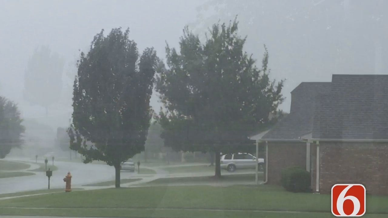 Craig Day Reports On Storms As They Move Through Owasso