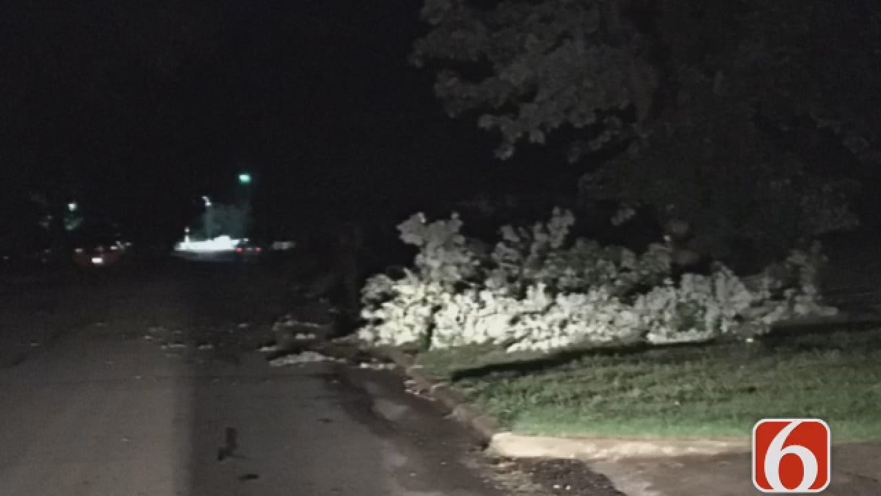 Joseph Holloway Reports On Sapulpa Storm Damage
