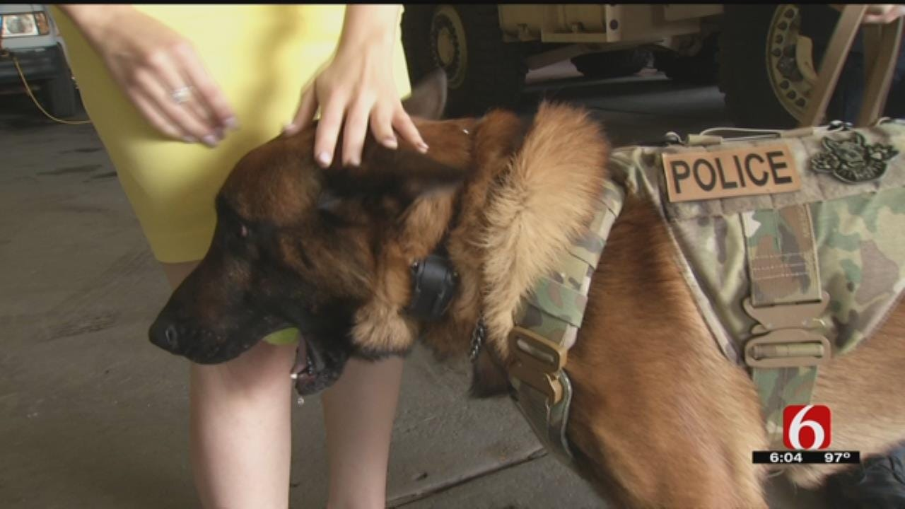 Muskogee Outfits K9 Officers With New Protective Gear