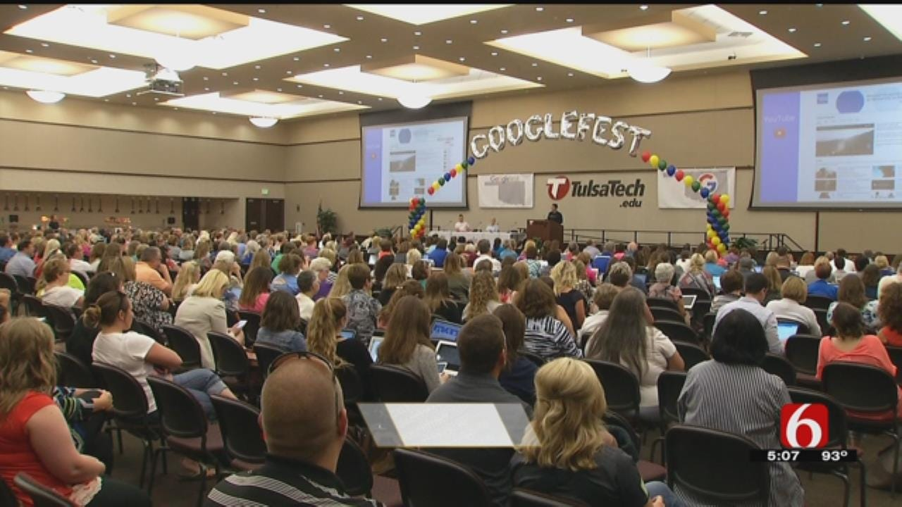 To Boost Tech Knowledge Google Holds Seminar For OK Educators